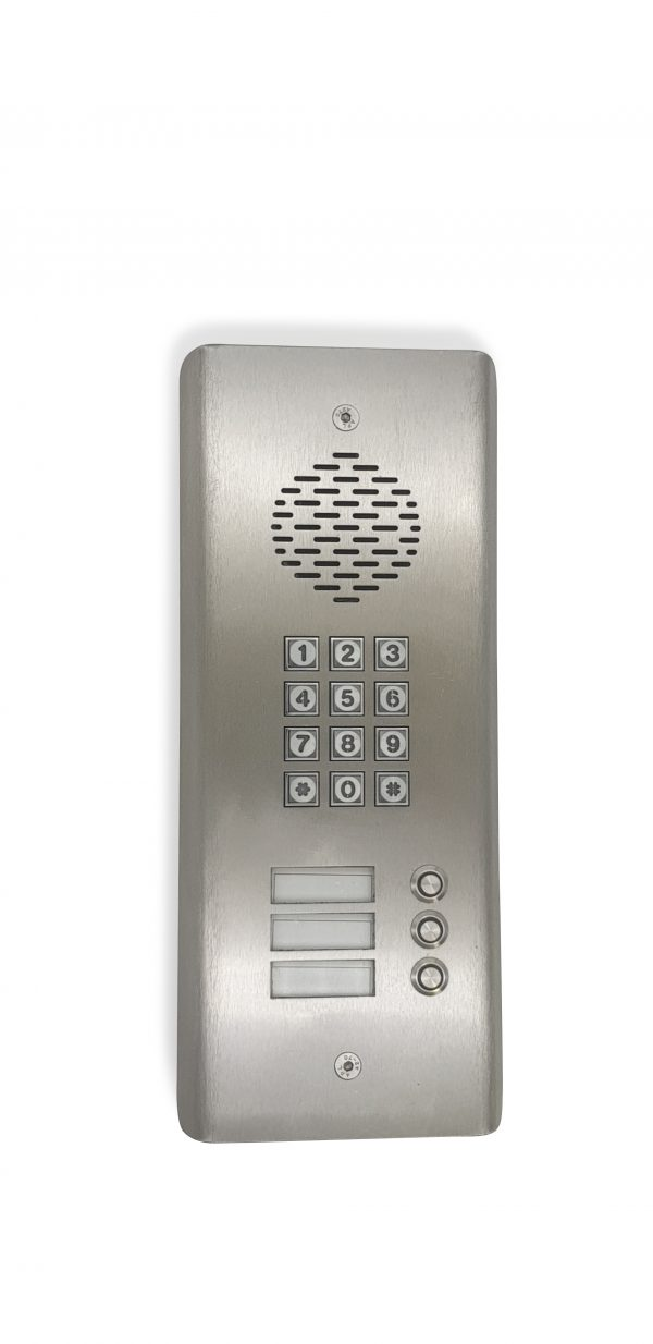 GSM 3G Intercom with 3 buttons and Keypad