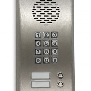 GSM 3G Intercom with 2 buttons and keypad