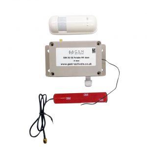 GSM Portable PIR Alarm